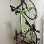 ロードバイクを室内保管!自転車スタンド0①キャノンデール緑2100