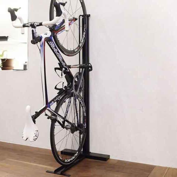 クランクストッパースタンドCS-103 | ロードバイク/クロスバイク用室内縦置き型スタンド/ラック