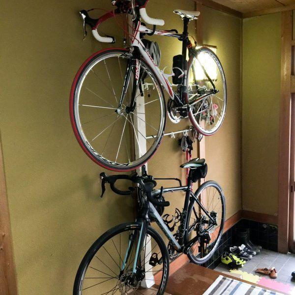 ロードバイクを室内保管!自転車スタンド⑩タイムハンガー4R