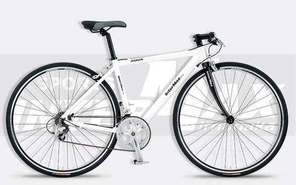 インターマックスのクロスバイクAQUA_WHITE