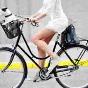 自転車のサドルの高さ:自転車スタンドのサイクルロッカーBLOG