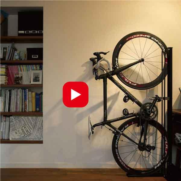 ロードバイクスタンド:クランクストッパースタンドの使い方(YOUTUBE動画)
