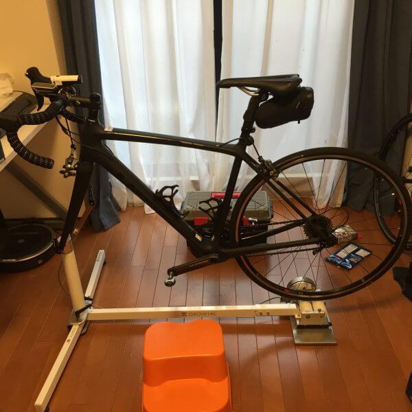自転車部屋⑪グロータック GT-Roller Flex 3