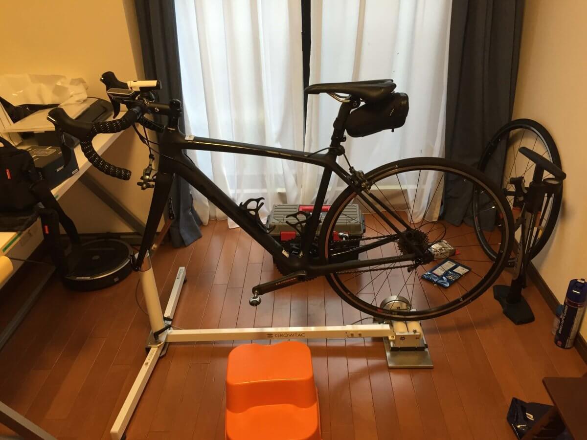 ロードバイクを室内保管!自転車スタンド⑪グロータック GT-Roller Flex 3