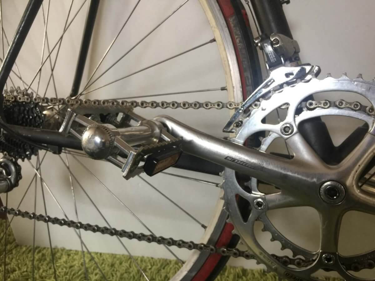 自転車スタンドのサイクルロッカーBLOG:ロードバイクにフラットペダル