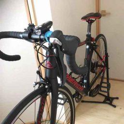 ロードバイクスタンド体験談!レビュー:ミノウラds-520