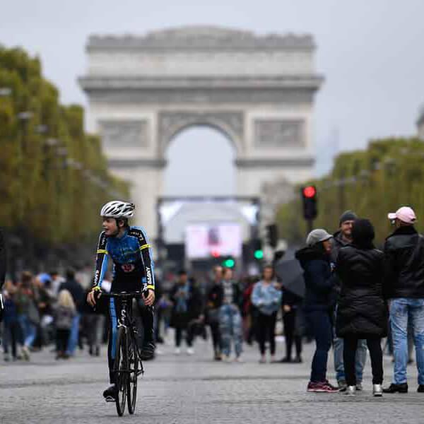 サイクリスト@パリのカーフリーデイ