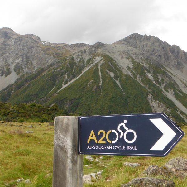 ニュージーランド自転車事情2:Alps 2 Ocean Cycle Trail