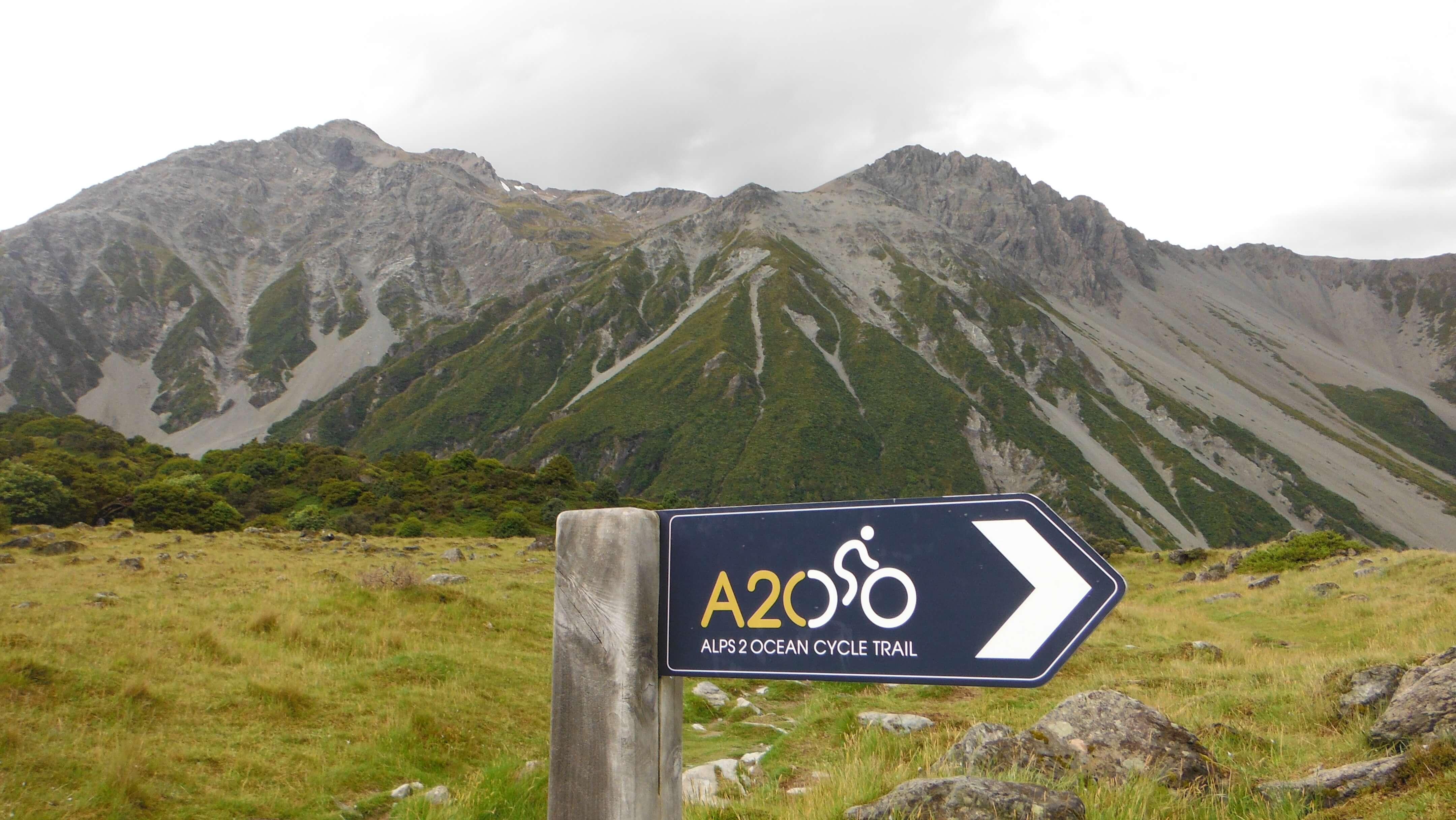 ニュージーランドの自転車トレイル ALPS 2 OCEAN