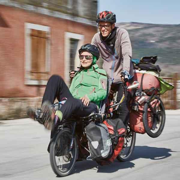 ニュージーランド自転車事情3:リカンベントのタンデム発見