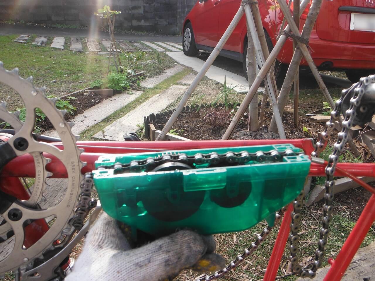 チェーン洗浄機