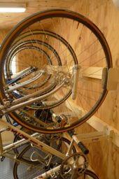 CSW01自転車小屋ホイールトンネル