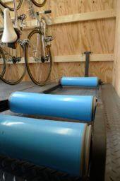 CSW01自転車小屋ローラー台