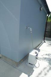 CSW01自転車小屋外水栓