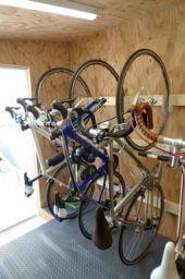 CSW01自転車小屋自転車並び