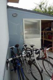 CSW01自転車小屋‗自転車を出したところ