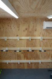 CSW01自転車小屋設置状況